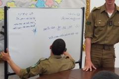 """מפגש חיילים ותלמידים מאי 2019 תשע""""ט"""