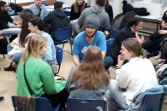 תלמידים ממדינת דנמרק מתארחים בגימנסיה