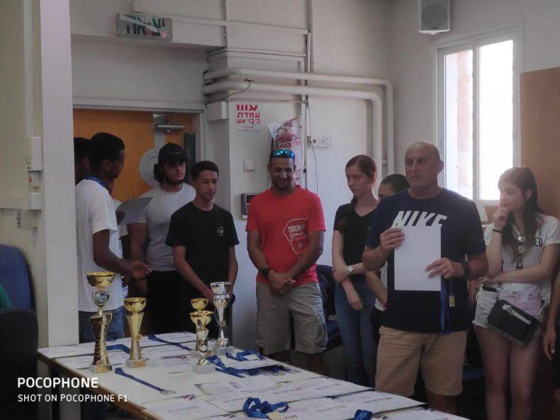 טקס חלוקת מדליות ופרסים למצטייני ספורט יוני 2019